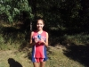 Xavier - Haley;  freshman girl medal winner