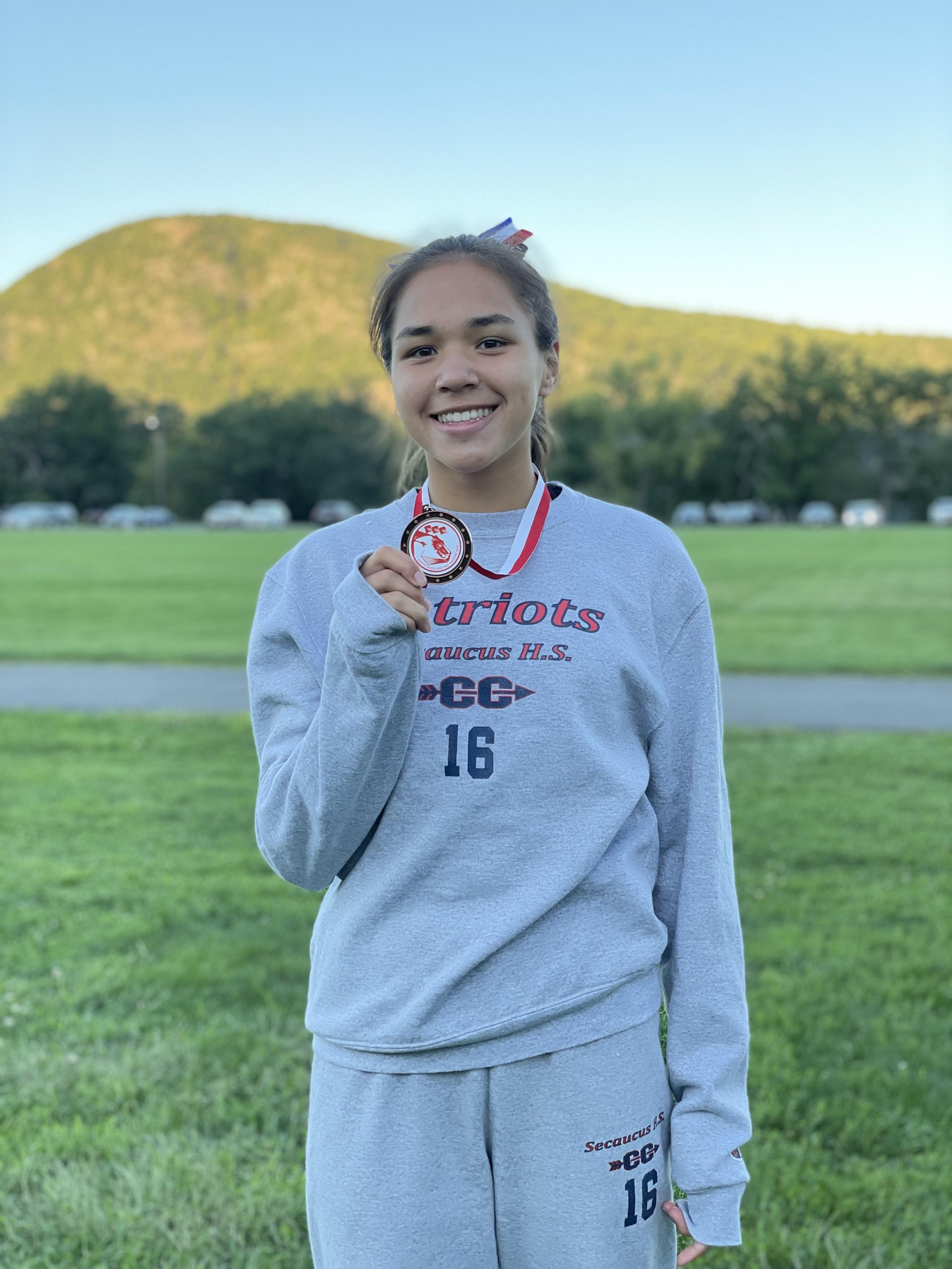 Haley-medal / Red Raider 9-10-21