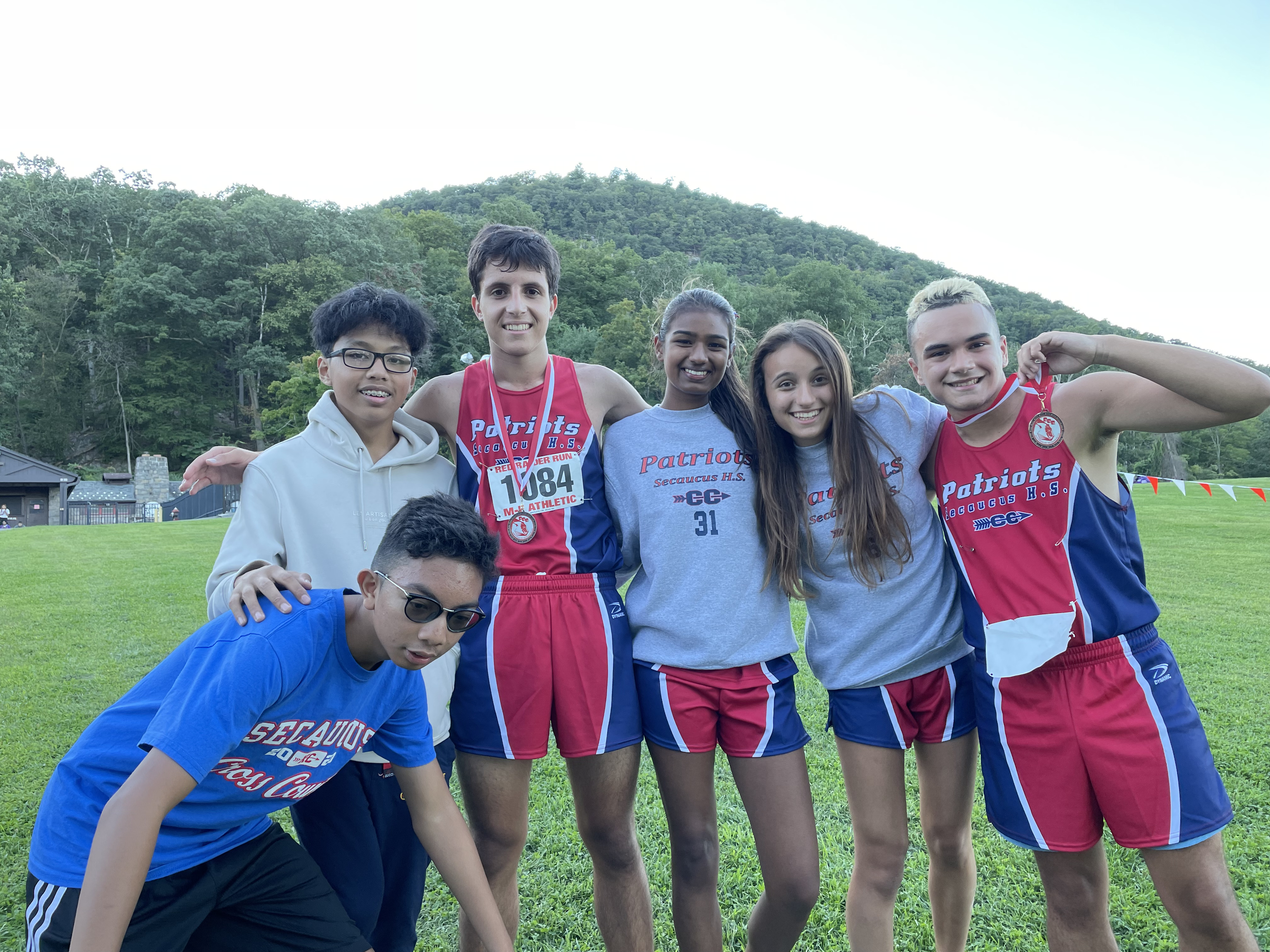 first HS XC race / Red Raider 9-10-21